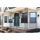 Gilpin Windsor Plus 32 In. H. x 6 Ft. L. Wrought Iron Railing Image 2