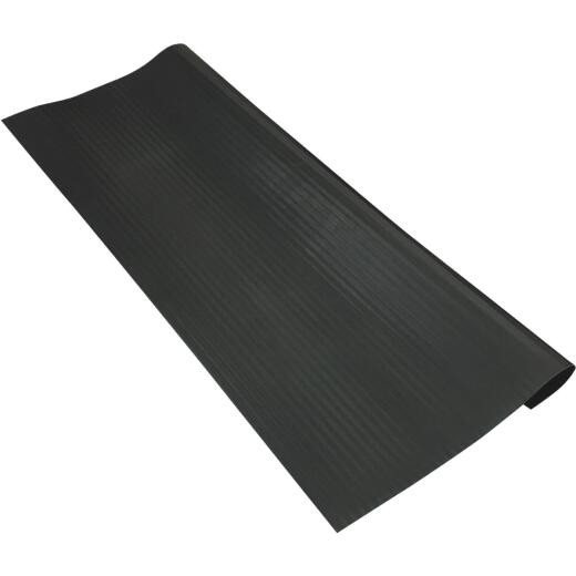 Tenex Black 9-7/8 In. x 24 In. Vinyl Stair Tread Hard Floor Protector