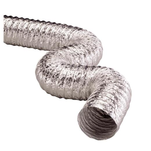 Dundas Jafine 4 In. Dia x 50 Ft. L Aluminum Foil Flexible Ducting