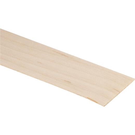 Cloverdale Band-It 7/8 In. x 25 Ft. White Birch Wood Veneer Edging