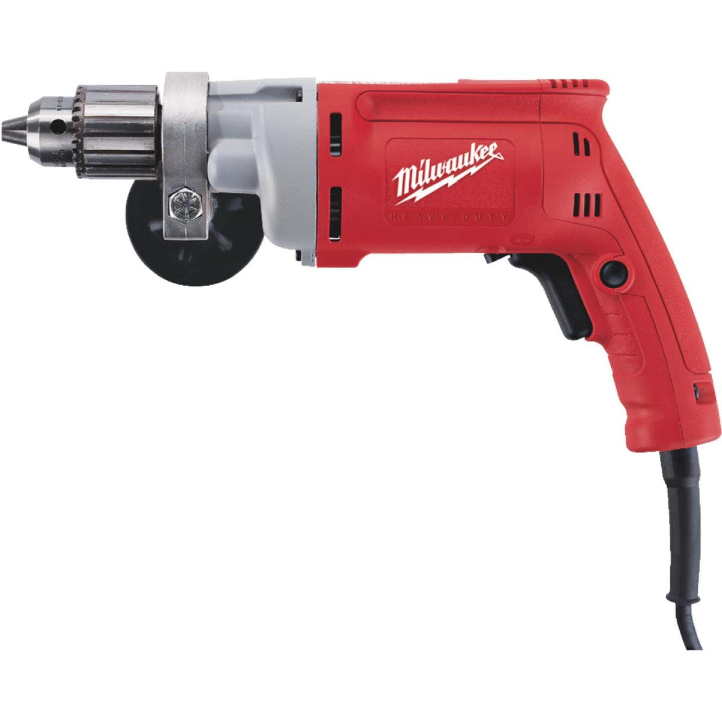 Milwaukee Magnum 1/2 In. 8-Amp Keyed Electric Drill with Textured Grip Image 1