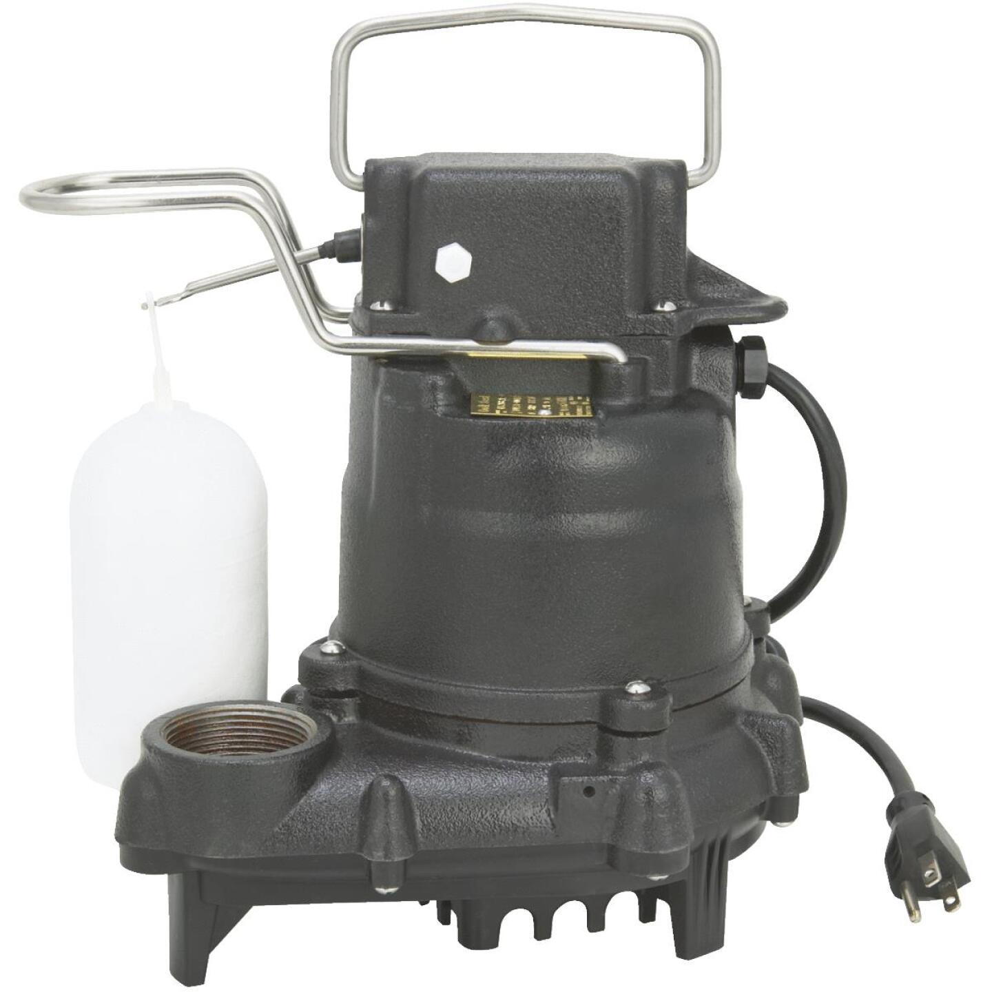Do it Best 3/10 HP 115V Effluent and Submersible Sump Pump Image 1