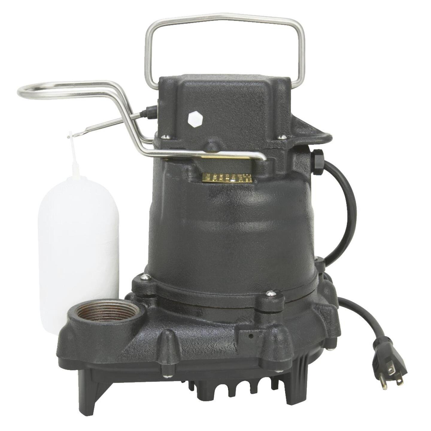 Do it Best 3/10 HP 115V Effluent and Submersible Sump Pump Image 2