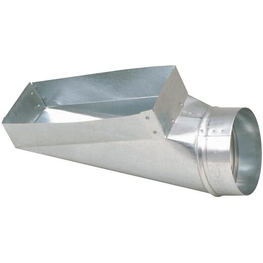 Imperial 30 Ga. 4 In. x 10 In. x 6 In. Galvanized End Boot