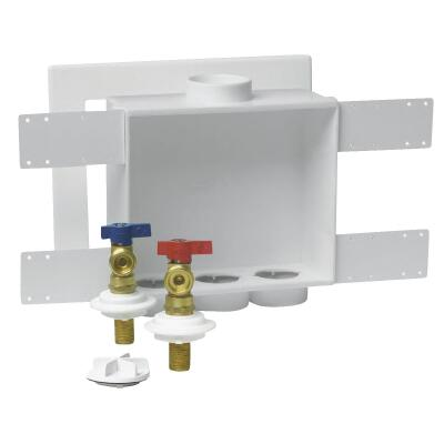 Oatey Copper Sweat Connection Washing Machine Outlet Box