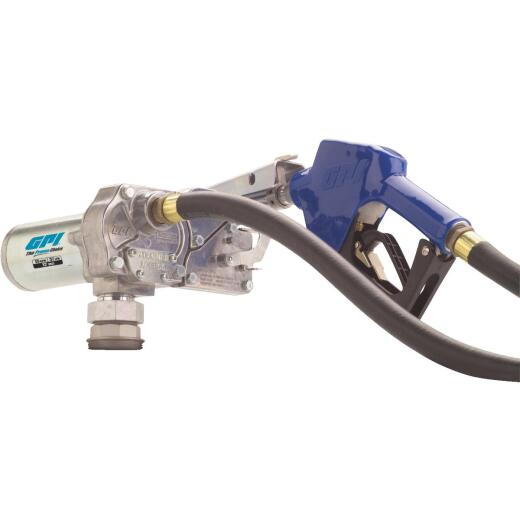 GPI 12V DC, 15 GPM Automatic Fuel Transfer Pump