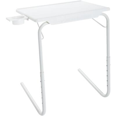 Table-Mate 20 In. x 15 In. White Personal Folding Table