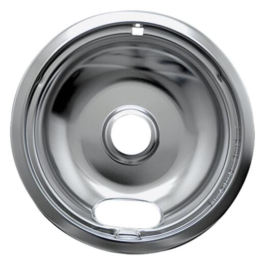 "Range Kleen Electric 6"" Style A Round Chrome Drip Pan"