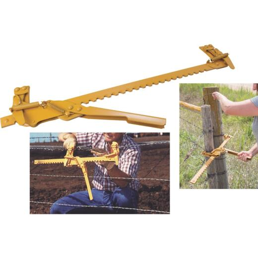 Goldenrod Ratchet Fence & Wire Stretcher
