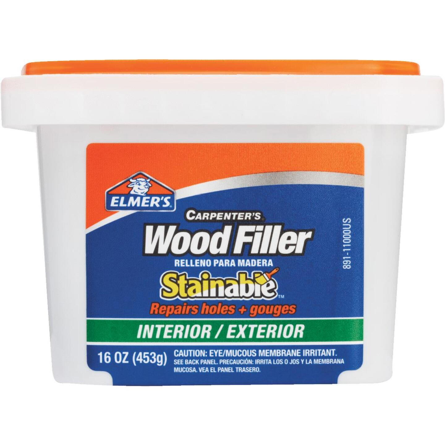 Elmer's Stainable Light Tan 16 Oz. Wood Filler Image 2