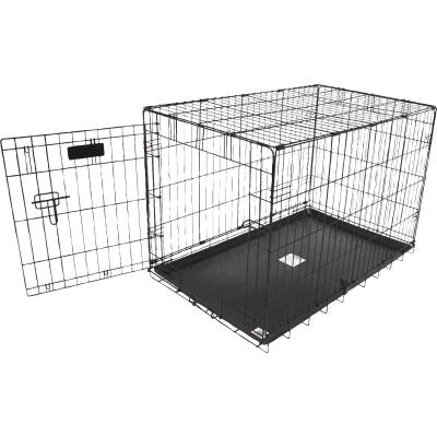 Petmate Aspen Pet 22.6 In. W. x 25.4 In. H. x 34.6 In. L. Heavy-Gauge Wire Indoor Training Dog Crate